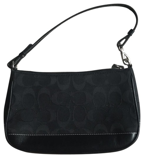 Preload https://item5.tradesy.com/images/coach-no-b22-6094-black-signature-fabric-and-leather-shoulder-bag-23332884-0-1.jpg?width=440&height=440