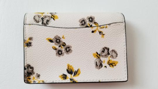 Coach NEW COACH floral Envelope key fob coin purse mini wallet card Case