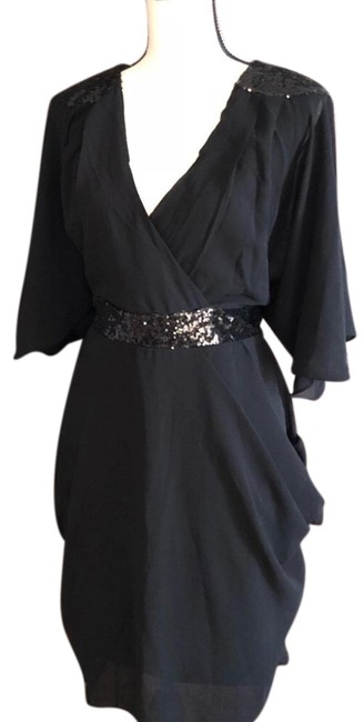 Preload https://item2.tradesy.com/images/city-chic-black-sequin-wrap-mid-length-cocktail-dress-size-16-xl-plus-0x-23332936-0-1.jpg?width=400&height=650