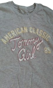 Tommy Girl T Shirt Gray