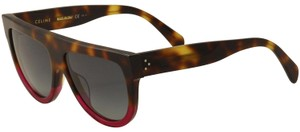Céline NEW Celine Shadow Cl 41046/S Flat Top Tortoise Fuschia Sunglasses