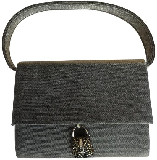 Preload https://img-static.tradesy.com/item/23332960/judith-jack-sterling-and-marcasite-charm-silvery-gray-satin-baguette-0-3-540-540.jpg