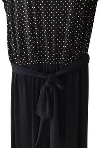 Chico's Wide Leg Pants Black with gold mini studs