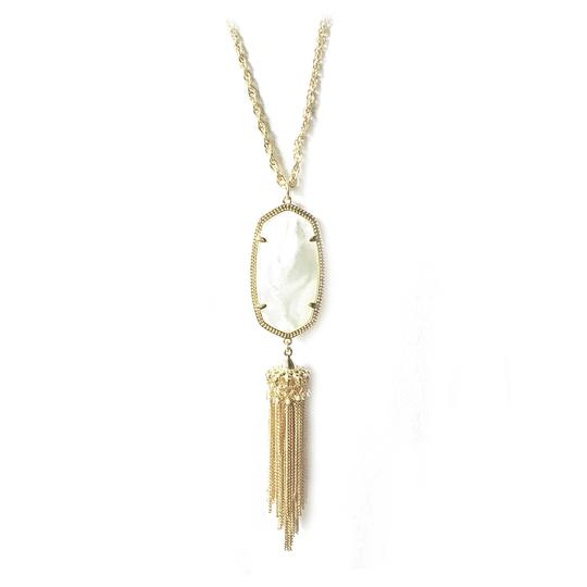 Preload https://item1.tradesy.com/images/kendra-scott-gold-new-rayne-long-pendant-mother-of-pearl-necklace-23333000-0-5.jpg?width=440&height=440