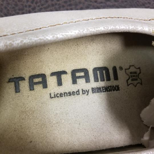 Tatami by Birkenstock Leather Bronze Flats