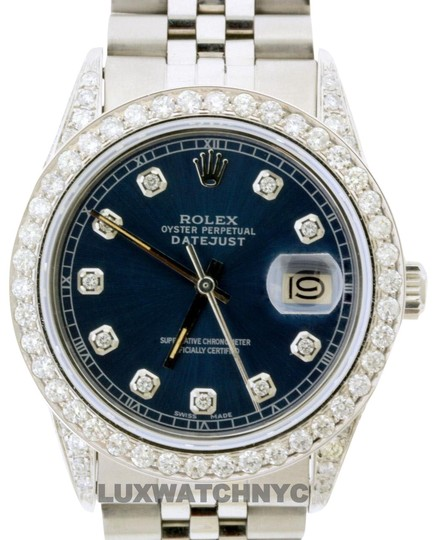 Preload https://img-static.tradesy.com/item/23333040/rolex-4ct-36mm-datejust-ss-with-box-and-appraisal-watch-0-1-540-540.jpg