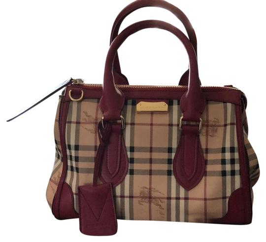 Preload https://item1.tradesy.com/images/burberry-haymark-gladstone-tote-tan-with-british-red-leather-trim-canvas-satchel-23333060-0-1.jpg?width=440&height=440