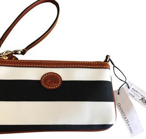 Dooney & Bourke Wristlet in Black & Tan - item med img