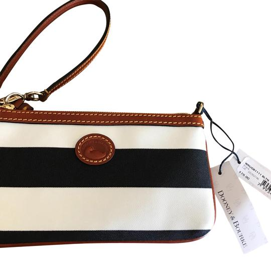 Preload https://item2.tradesy.com/images/dooney-and-bourke-wrugb1111-bltn-black-tan-fabric-with-leather-trim-wristlet-23333061-0-1.jpg?width=440&height=440