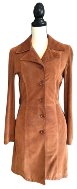 Preload https://item2.tradesy.com/images/dolce-and-gabbana-brown-suede-coat-size-6-s-23333096-0-1.jpg?width=400&height=650