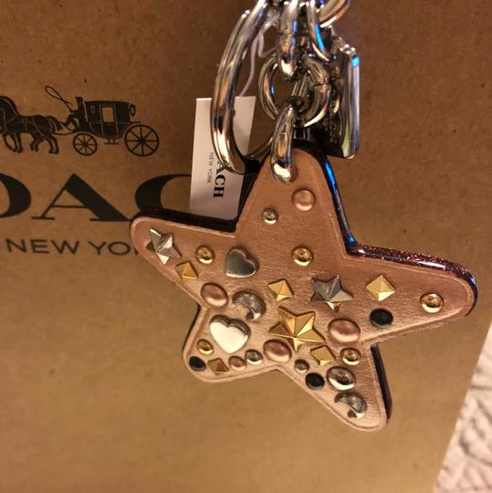 Coach Star Studded Key Chain Hook Coach f21394