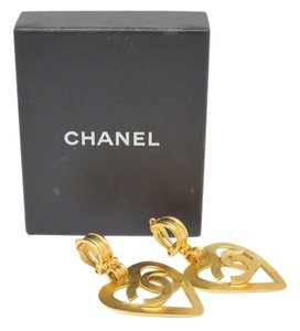Chanel CHANEL COCO and Heart Clip Earrings