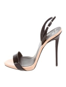 Giuseppe Zanotti Black and blush beige Sandals
