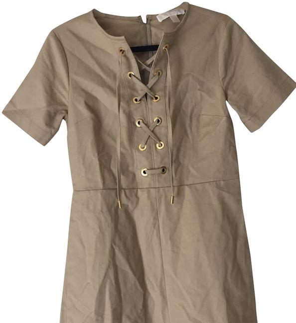 Preload https://item1.tradesy.com/images/michael-kors-khaki-lace-up-with-pockets-short-casual-dress-size-4-s-23333155-0-1.jpg?width=400&height=650