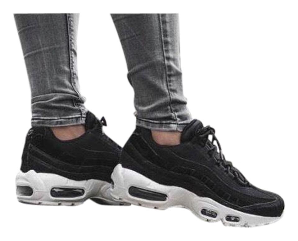 buy popular 8f628 d7b00 Nike Women's Air Max 95 Lx Black Synthetic Leather Mesh Suede and Leather  Upper Provides A Comfortable Fit. Sneakers Size US 7.5 Narrow (Aa, N) 10%  ...
