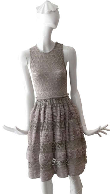 Preload https://item2.tradesy.com/images/alaia-nude-lace-flare-mid-length-cocktail-dress-size-2-xs-23333161-0-2.jpg?width=400&height=650