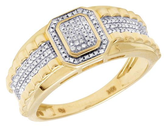 Preload https://item4.tradesy.com/images/jewelry-unlimited-10k-yellow-gold-genuine-diamond-pinky-14ct-10mm-ring-23333163-0-0.jpg?width=440&height=440