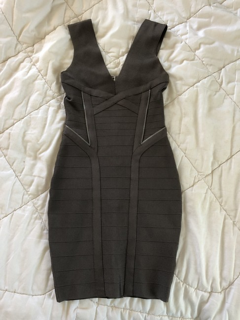 Guess By Marciano Bandage Bodycon V-neck Sleeveless Party Dress