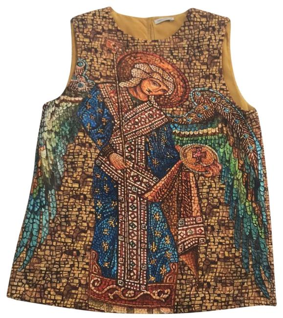 Preload https://item2.tradesy.com/images/dolce-and-gabbana-multicolor-woolsilk-tank-topcami-size-2-xs-23333216-0-1.jpg?width=400&height=650