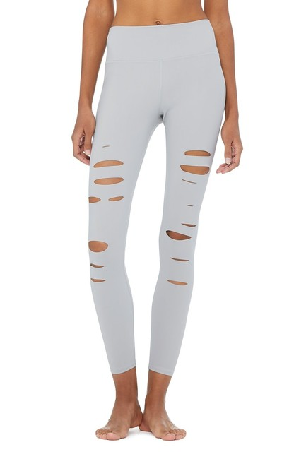 Preload https://item1.tradesy.com/images/alo-alloy-grey-high-waist-ripped-warrior-activewear-leggings-size-12-l-32-33-23333225-0-1.jpg?width=400&height=650