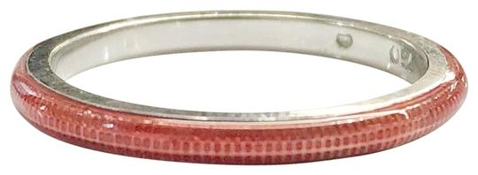Hidalgo Hidalgo 18k and Ceramic Red Stackable Ring