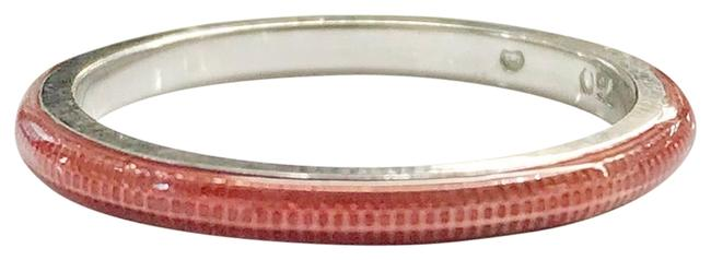 Hidalgo 18k and Ceramic Red Stackable Ring Hidalgo 18k and Ceramic Red Stackable Ring Image 1