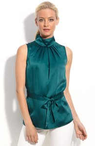 Lafayette 148 New York Top Green