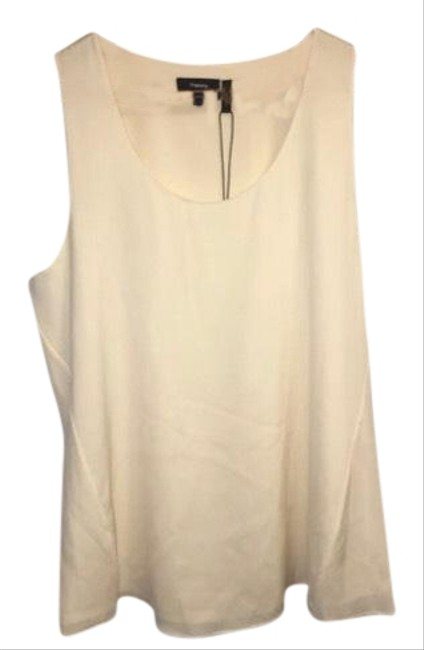 Preload https://item1.tradesy.com/images/theory-ivory-aleukia-sheen-2-crepe-silk-blend-tank-topcami-size-12-l-23333285-0-1.jpg?width=400&height=650