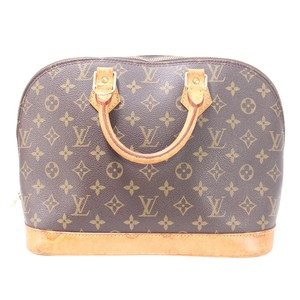 Louis Vuitton Lv Mono Keepall Musette Speedy Tote in brown