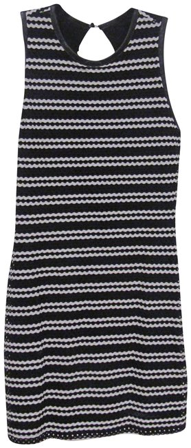 Preload https://img-static.tradesy.com/item/23333330/eight-sixty-black-white-bodycon-striped-short-night-out-dress-size-12-l-0-1-650-650.jpg
