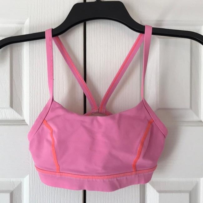 Lululemon Lululemon Rise and Run Bra - PINK