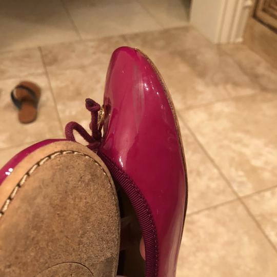 Tory Burch Pink and gold Flats