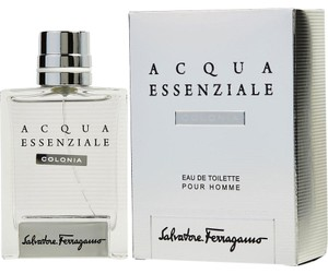 Salvatore Ferragamo ACQUA ESSENZIALE Eau de Toilette-spray 3-4-oz /100 ml,Men's New/Sealed