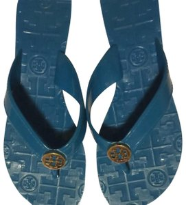 bcdbd6c47a391 Blue Tory Burch Sandals - Up to 90% off at Tradesy
