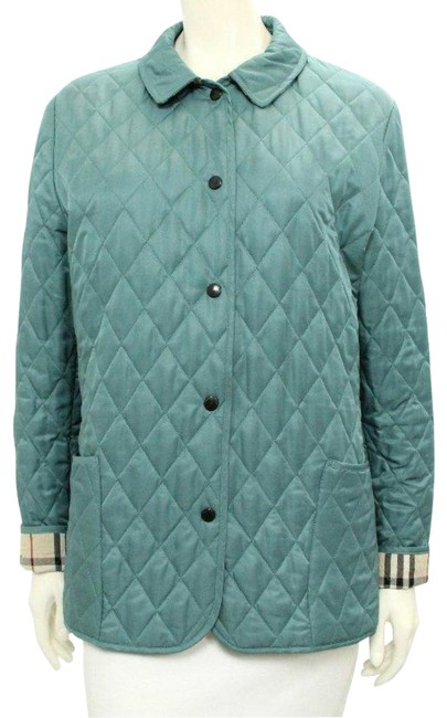 Preload https://item4.tradesy.com/images/burberry-london-teal-blue-and-nova-check-quilted-coatjacket-sz-l-size-12-l-23333373-0-1.jpg?width=400&height=650