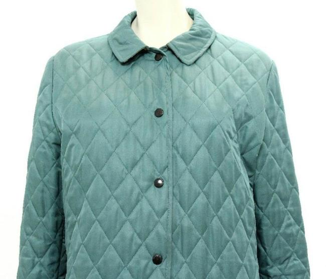 Burberry London Nova Check Quilted Coat