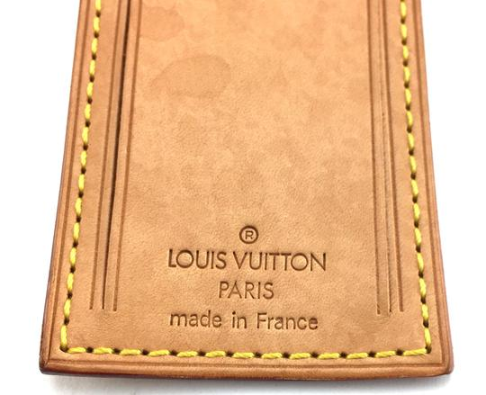 Louis Vuitton Leather Luggage Loop And Tag Set Monogram Keepall Alma logo