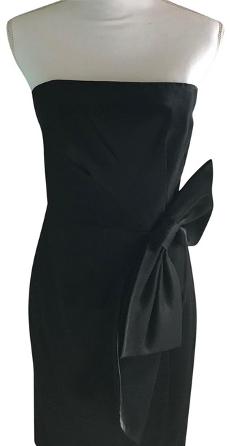Preload https://item5.tradesy.com/images/milly-black-104297-mid-length-cocktail-dress-size-6-s-23333409-0-1.jpg?width=400&height=650