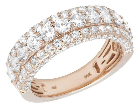 Preload https://item2.tradesy.com/images/jewelry-unlimited-14k-rose-gold-three-row-diamond-band-35ct-8mm-ring-23333416-0-0.jpg?width=440&height=440
