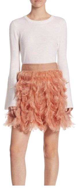 Preload https://item1.tradesy.com/images/alice-olivia-feather-miniskirt-size-2-xs-26-23333475-0-1.jpg?width=400&height=650