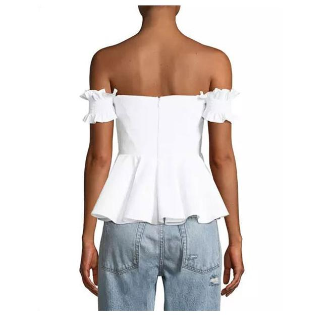 StyleKeepers Off The Shoulder Top White