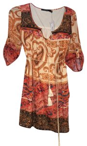 Ark & Co. short dress Warm colors, patterned on Tradesy
