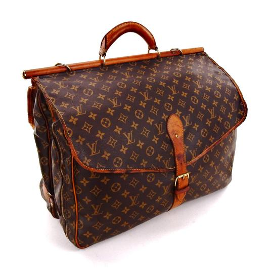 Preload https://item4.tradesy.com/images/louis-vuitton-sac-chasse-luggage-tote-brown-monogram-canvas-leather-weekendtravel-bag-23333548-0-0.jpg?width=440&height=440