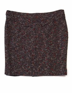 Chanel Skirt Red, navy and brown