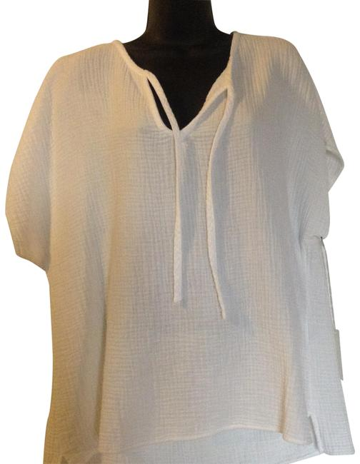 Side Stitch Los Angeles Top White