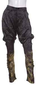 Adriana Iglesias Baggy Pants Black