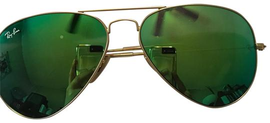 Preload https://item2.tradesy.com/images/ray-ban-gold-sunglasses-23333631-0-2.jpg?width=440&height=440