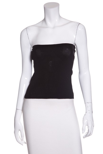 Preload https://item4.tradesy.com/images/chanel-black-stretch-knit-tube-tank-topcami-size-4-s-23333663-0-0.jpg?width=400&height=650