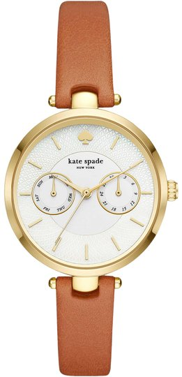Preload https://item1.tradesy.com/images/kate-spade-luggage-gold-gold-tone-and-leather-holland-ksw1399-watch-23333720-0-2.jpg?width=440&height=440