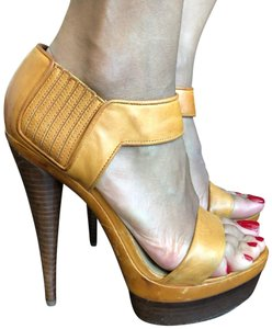 Rachel Zoe yellow Platforms